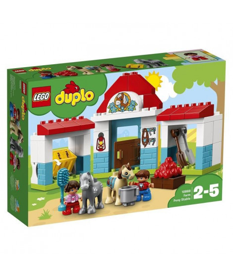 LEGO DUPLO Ma ville 10868 Le poney-club de la ferme
