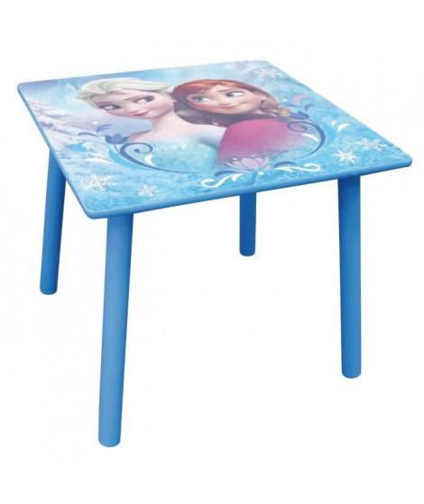 Fun House Disney Reine des Neiges table carree avec tabouret pour enfant
