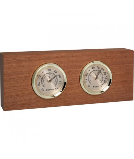CLIMADIFF - BLTY01 - Accessoire cave a vin - Thermometre hygrometre