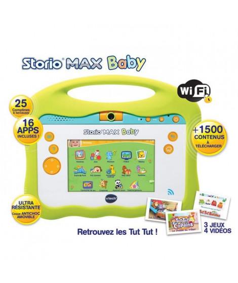 """VTECH Baby - Console Storio Max 5"""" - Tablette Éducative Enfant 5 Pouces - Tut Tut Aventures"""