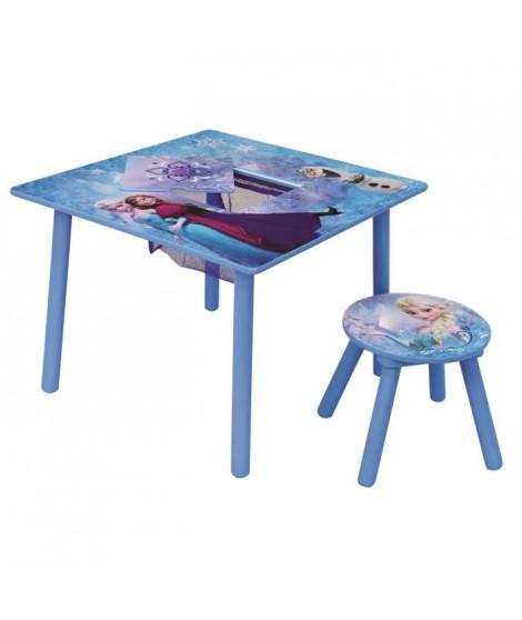 Fun House Disney Reine des Neiges table activite avec tabouret pour enfant
