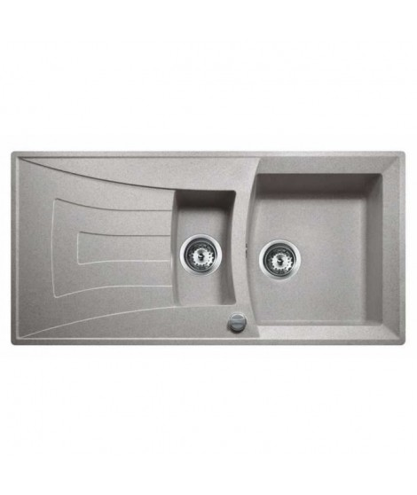 TEKA 1,5 Cuves Universo 60 GT 1 égouttoir gris
