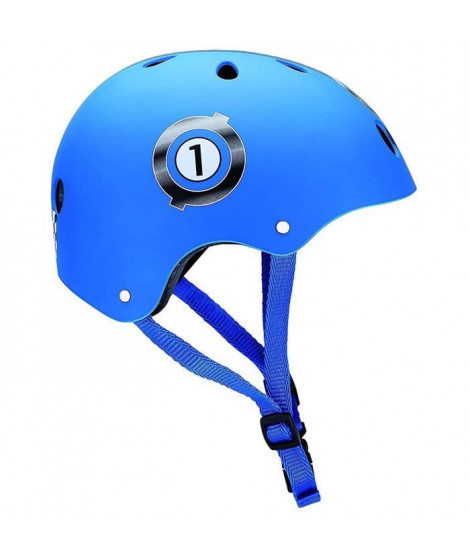GLOBBER Casque HELMET Junior Taille XS : 51-54cm - RACING Bleu Marine