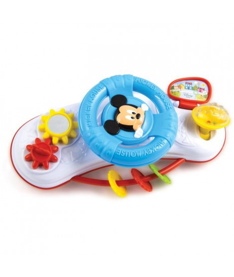 CLEMENTONI Disney Baby - Volant d'activités Mickey - Jeu d'éveil