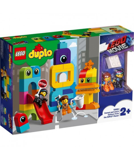 LEGO DUPLO Movie 10895 Les visiteurs de la planete DUPLO d'Emmet et Lucy