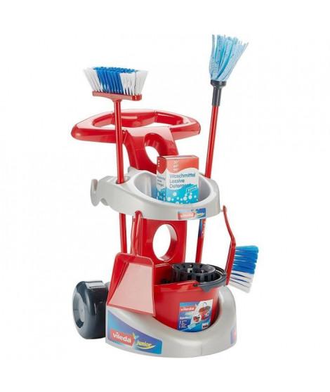 VILEDA - Chariot de ménage avec accessoires