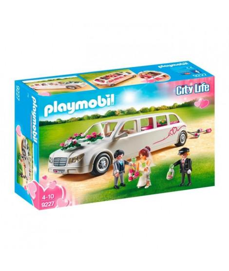 PLAYMOBIL 9227 - City Life - Limousine et Couple de Mariés