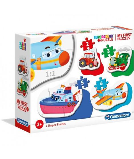 MON PREMIER PUZZLE 3-6-9-12 pieces - Moyens de transport