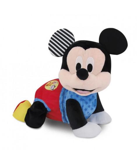 CLEMENTONI Disney Baby  - Mickey fait du 4 pattes ! - Jeu d'éveil