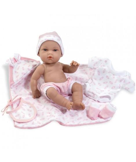 ARIAS Poupon 33 cm avec kit accessoires roses