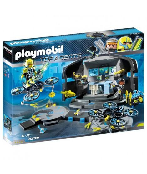 PLAYMOBIL 9250 - Top Agents - Centre de Commandement du Dr. Drone