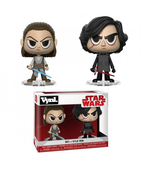 Figurine Funko Vynl Star Wars: Rey & Kylo