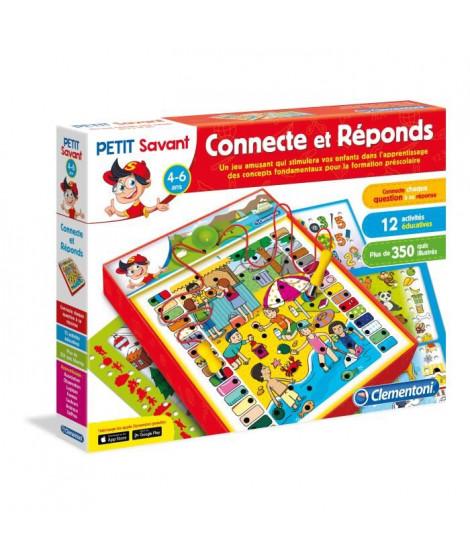 CLEMENTONI Petit Savant - Connecte & Réponds - 4 ans et +