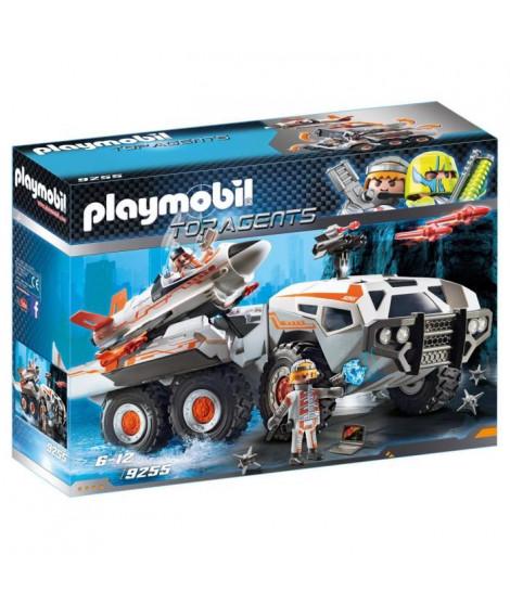 PLAYMOBIL 9255 - Top Agents - Camion et Navette de la Spy Team