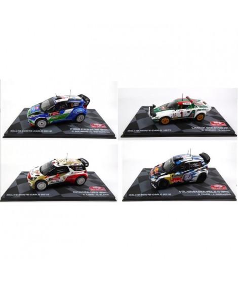 OPO 10 - Voitures de rallye WRC - Collection Ixo - Echelle 1/43