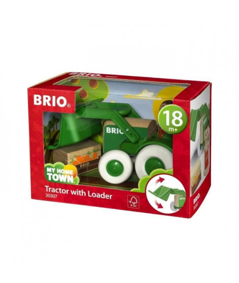 BRIO - My Home Town - Tractopelle Et Chargement