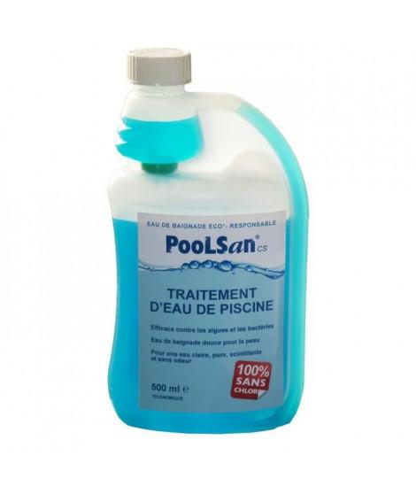POOLSAN Bouteille doseuse de désinfectant - 100% sans chlore - 500 ml