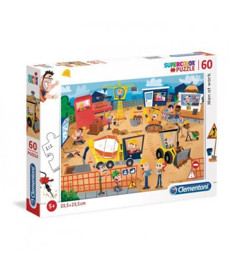 PUZZLE 60 pieces - Le chantier - 33 X 23 cm