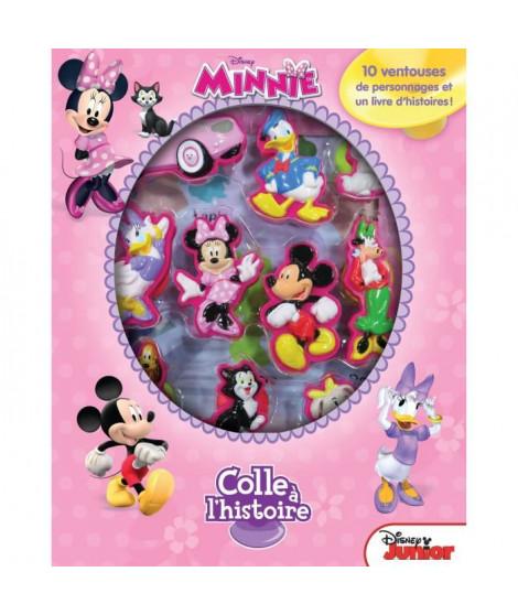 DISNEY MINNIE MOUSE Plus de 10 figurines a ventouse - Livre cartonné de 10 pages - Editions Phidal