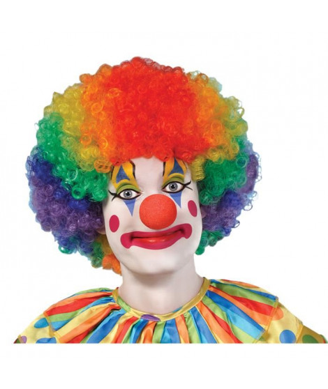 AMSCAN Perruque Clown Adulte