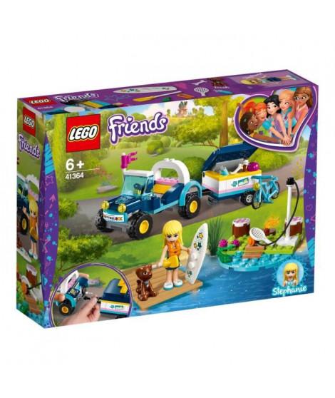 LEGO Friends 41364 Le buggy et la remorque de Stéphanie
