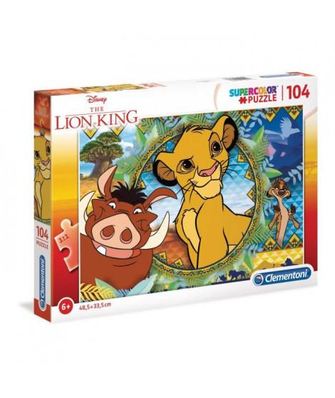LE ROI LION Puzzle 104 pieces - 48 x 33 cm