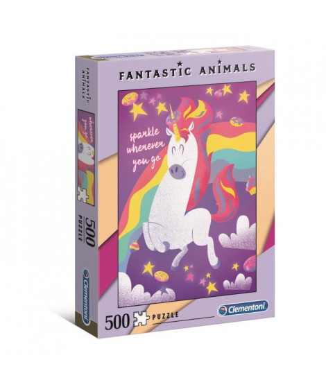PUZZLE Fantastic Animal 500 pieces - Unicorn