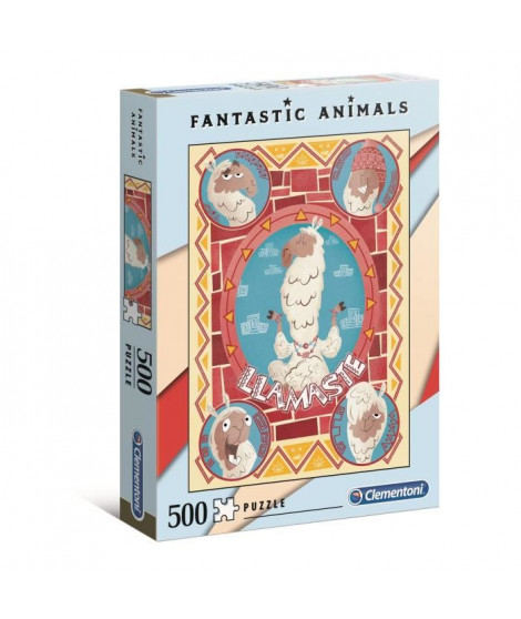 PUZZLE Fantastic Animal 500 pieces - Lama