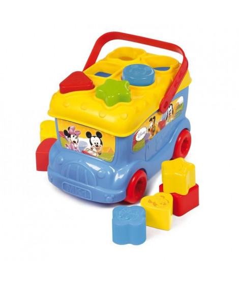 CLEMENTONI Disney Baby  - Le bus des formes de Mickey - Jeu d'éveil