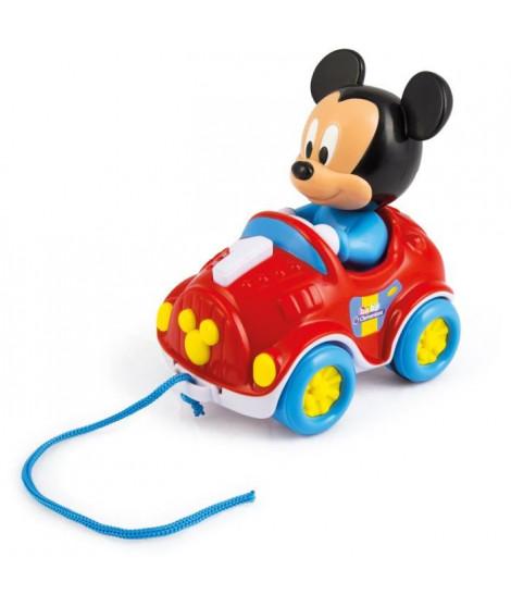 CLEMENTONI Disney Baby - Ma voiture a tirer Mickey - Jeu d'éveil