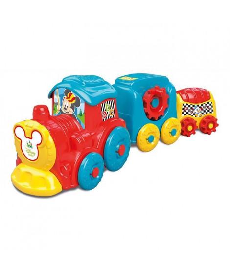 CLEMENTONI Disney Baby  - Train d'activités Mickey - Jeu d'éveil