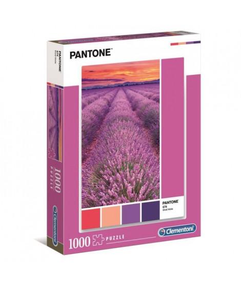 PUZZLE Pantone 1000 pieces - Vivid Viola