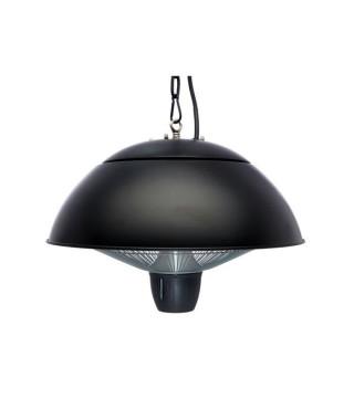 FAVEX - Chauffage extérieur Électrique Suspendu MONZA - 1500 W - Noir