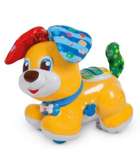 """CLEMENTONI Baby - Bibou, le chien qui fait """"Coucou !""""  - Jeu d'éveil interactif"""