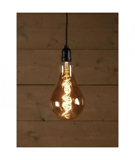 Ampoule LED d'extérieur BOT Retro - Ø13 x 20 cm - 4 piles AA