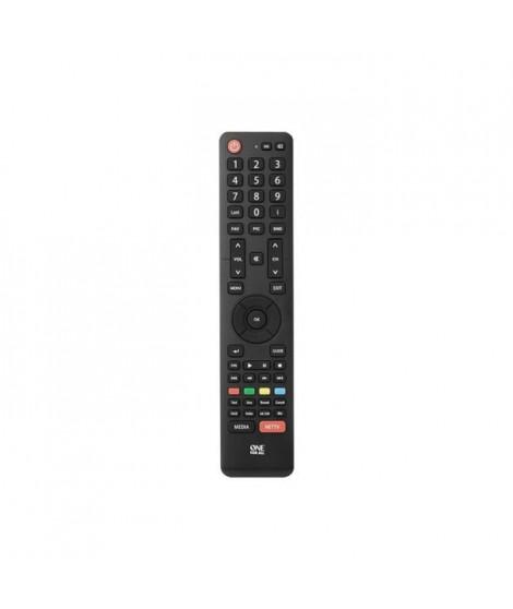 ONE FOR ALL URC1916 Télécommande pour toute TV Hisense - Noir