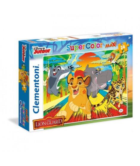 LE ROI LION Puzzle SuperColor 24 pieces Maxi