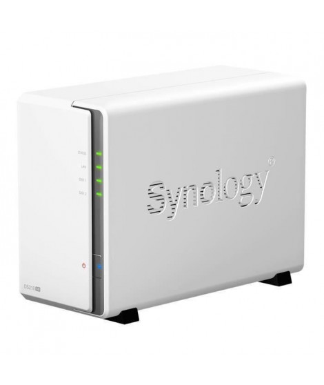 Pack Synology Serveur NAS Diskstation DS216se DS216se + 2 Disques Durs WD Red 2To 64Mo 3.5 WD20EFRX