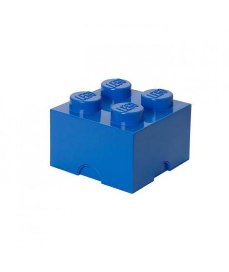 LEGO Brique de rangement - 40031731 - Empilable - Bleu