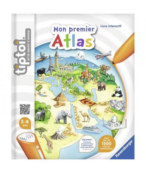 TIPTOI Livre Interactif Mon premier Atlas Interactif