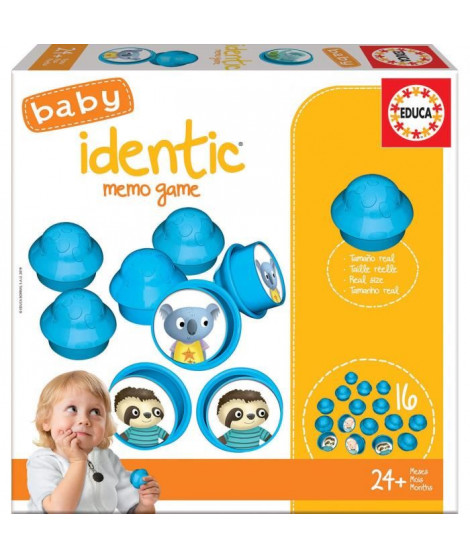 EDUCA  baby identic memo game-