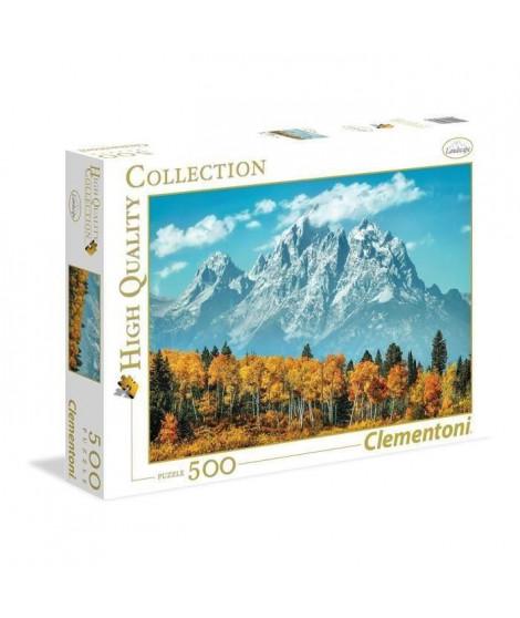 PUZZLE 500 pieces - Grand Teton en automne - 49 X 36 cm