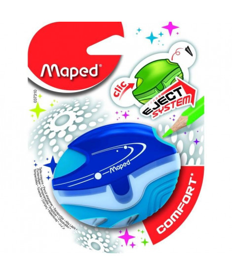 MAPED - Taille-crayons avec Réserve Galactic Comfort - 1 usage