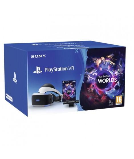 Pack PlayStation VR V2 MK4 + PlayStation Caméra V2 + VR Worlds a télécharger