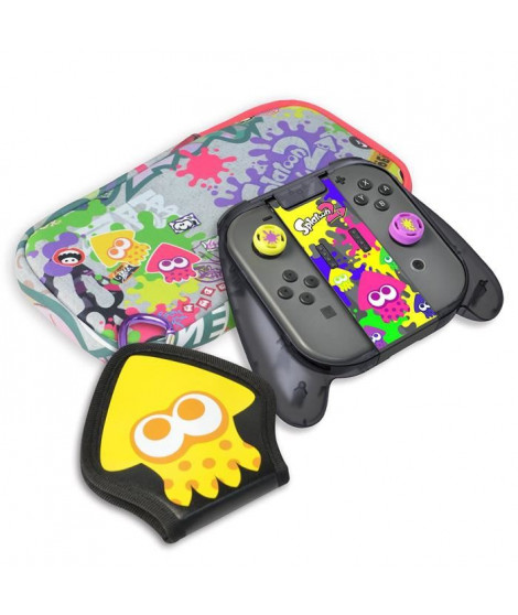 Kit de protection Splatoon 2 Deluxe Hori pour Switch