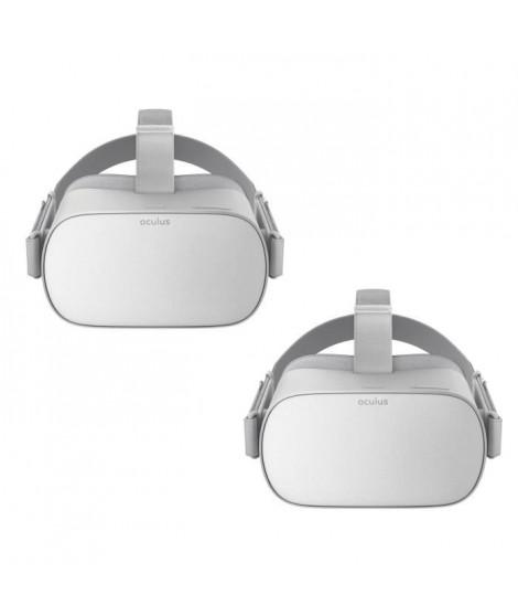 1 Casque de Réalité Virtuelle Oculus GO 32Go + 30? de réduction sur le Oculus GO 64Go