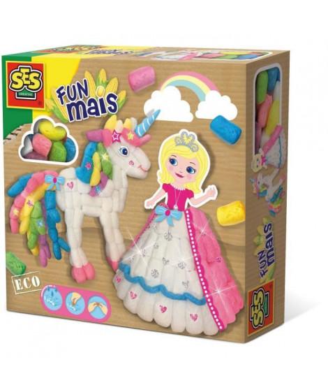 SES CREATIVE Funmais princesse et licorne - 400 pieces
