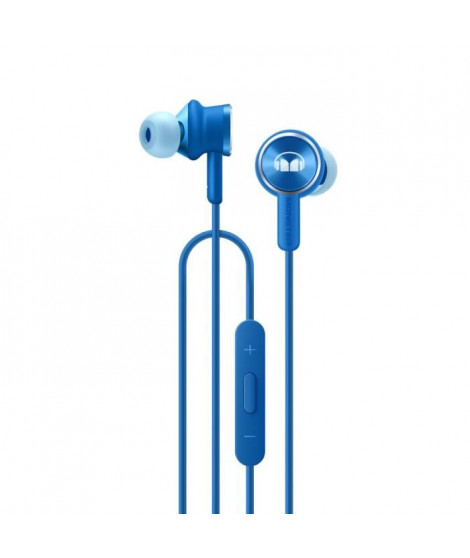 HONOR Monster Headphone II, Avec fil, écouteur, Binaural, Intraaural, Bleu