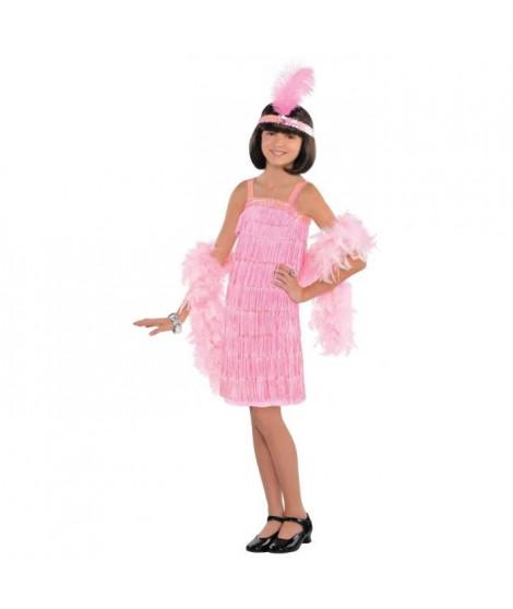 AMSCAN Costume Charleston Rose - Robe et Diademe