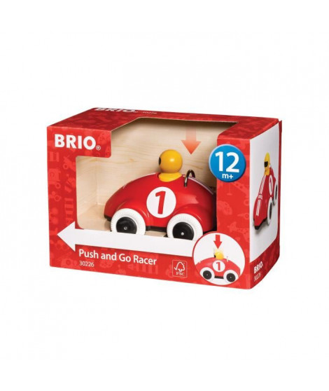 BRIO - 30226 - Voiture de Course Push And Go
